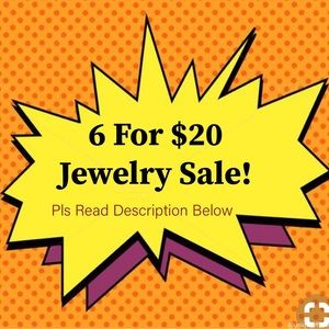 6 For $20 Jewelry Spring Sale!